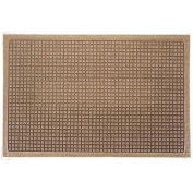"Waterhog Fashion Mat, 4' x 16' x 3/8"", Med Brown"