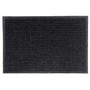 """Waterhog Fashion Mat, 3' x 8' x 3/8"""", Charcoal"""