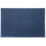 "Waterhog Fashion Mat, 3' x 8' x 3/8"", Med Blue"