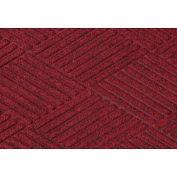 "Waterhog Classic Diamond Mat, 3' x 8' x 3/8"", Red/Black"