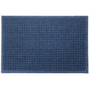 "Waterhog Fashion Mat, 4' x 16' x 3/8"", Med Blue"
