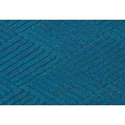 "Waterhog Classic Diamond Mat, 3' x 8' x 3/8"", Med Blue"