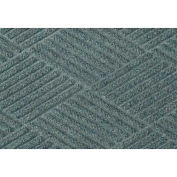 "Waterhog Classic Diamond Mat, 3' x 8' x 3/8"", Bluestone"