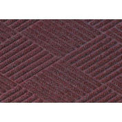 "Waterhog Classic Diamond Mat, 3' x 8' x 3/8"", Bordeaux"