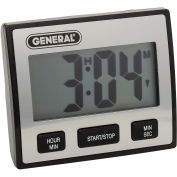 Waterproof LCD Timer With Jumbo Display - Pkg Qty 2