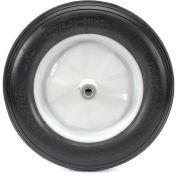 Marathon 00001 Flat Free Wheelbarrow Tire Ribbed Tread