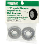 "Marathon 60020 1/2"" Standard Ball Bearings, 2/Pk"