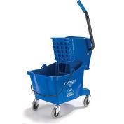 Carlisle 3690814 Mop Bucket/Wringer Combo 26 qt, Blue