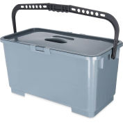 "Rectangular Micro Fiber Squeegee Bucket 18"" - Pkg Qty 3"