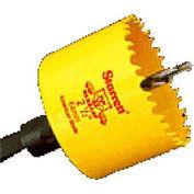 "Starrett 65526 AVH0214 Fastcut Hole Saw Variable Pitch w/Quick Shot Arbors 4-6 Tpi 2-1/4"" (57mm)"