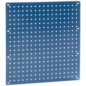 "Heavy Duty Steel Pegboard, Blue, 18"" x 19"""