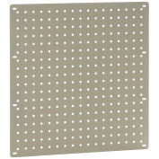"Heavy Duty Steel Pegboard, Tan, 18"" x 19"""