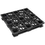 45 x 45 Rackable Plastic Pallet, 2600-5300 Lbs Cap