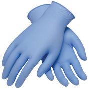Industrial Grade Disposable Nitrile Gloves, Powder-Free, Blu, L, 100/Box, 63-532PF/L