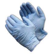 Industrial Grade Disposble Nitrile Gloves, Powder-Free, Blu, XL, 100/Box, 63-338PF/XL