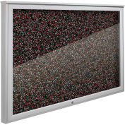 """Balt® Weather Sentinel Outdoor Enclosed Cabinet - Rubber-Tak Surface - 36""""W x 24""""H Red"""