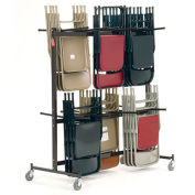 NATIONAL PUBLIC SEATING Chair Caddy - 84-Chair Capacity