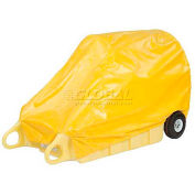 Enpac Spill Containment Cover for Poly-Dolly, Yellow