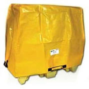 Enpac Spill Containment Cover for 2-Drum Poly Spillpallet 2000, Yellow
