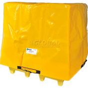 Enpac Spill Containment Cover for 4-Drum Poly Spillpallet 6000, Yellow