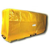 Enpac Spill Containment Cover for 4-Drum In-Line Poly Spillpallet 3000, Yellow