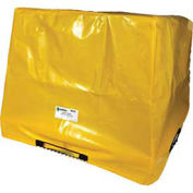 Enpac Spill Containment Cover for 4-Drum Workstation, Yellow