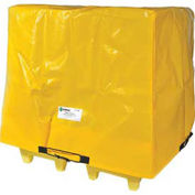 Enpac Spill Containment Cover for 4-Drum Poly-Slim-Line 6000, Yellow
