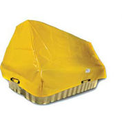 Enpac Spill Containment Cover for Double IBC 4000I, Yellow