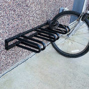 VESTIL Wall-Mount Bike Rack - Holds 3 Bikes