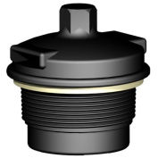 "2"" Male NPS Threaded Dual Action Vent With 2Psi Spring, HMVMN/20MM/027"