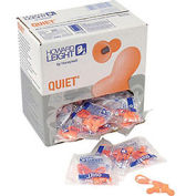 Howard Leight Quiet Multiple Use Corded Earplug, 100 Pairs/Box