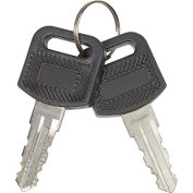 Replacement Keys for Charging Carts 985748, 251761, 987877, 987878, 670051, 670052, Set of 2