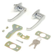 Lock Set With Keys Replacement for Cabinet Model 603355, 603357, 237614, 237615