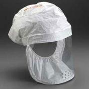 3M BE-12-3 White Respirator Head Cover, Regular, 3/Case