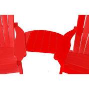 Basic Adirondack Tete-A-Tete, Red