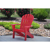 Seaside Adirondack Chair, Red