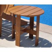 Traditional Adirondack Side Table, Cedar