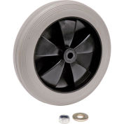 "Replacement 8"" Rear Wheel for Janitor Cart"