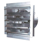 """MaxxAir™ 14"""" Heavy Duty Exhaust Fan With Integrated Shutter IF14 1400 CFM"""