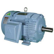 Hyundai PEM HHI60-18-364T, Rigid, TEFC, 364T, 3 PH, 208-230/460V, 60 HP, 1800 RPM, 69.9 FLA