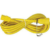 TPI 9' Yellow Extension Cord with Power Switch