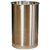DC Tech DM101001, 55 Gallon Open Head Stainless Steel Drum without Lid