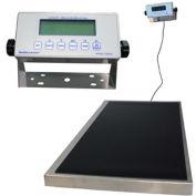 "Health O Meter 2842KL Digital Scale 600 x 0.2lb/270 x 0.1kg 22-1/4 x 42"" Plat. W/ Remote Display"