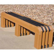 Recycled Plastic 6 Ft. Gateway Bench, Cedar