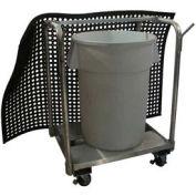 """Prairie View Mat Cart, 34W x 46H x 36""""L, Aluminum"""