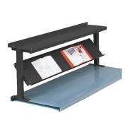 "2 Shelf Production Booster, 48""W X 24""H, Black"