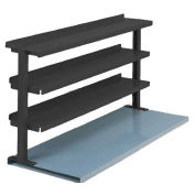 "3 Shelf Production Booster, 48""W X 36""H, Black"