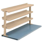 "3 Shelf Production Booster, 48""W X 36""H, Putty"