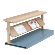 "2 Shelf Production Booster, 48""W X 24""H, Putty"