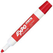 Sanford® Expo Low Odor Dry Erase Marker, Bullet Point, Red Ink, Dozen